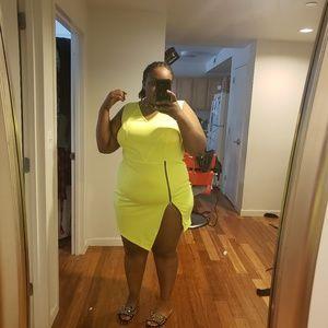 Dresses & Skirts - A neon dress size 18/20